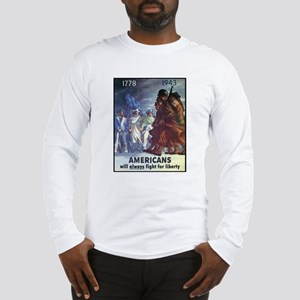 Fight for Liberty Poster Art (Front) Long Sleeve T