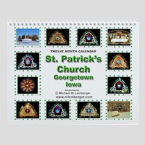 St. Patrick's Catholic Church- WindowWall Calendar