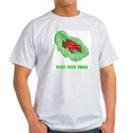 Plays With Frogs Ash Grey T-Shirt