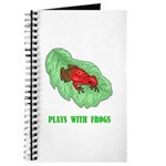 Plays With Frogs Journal