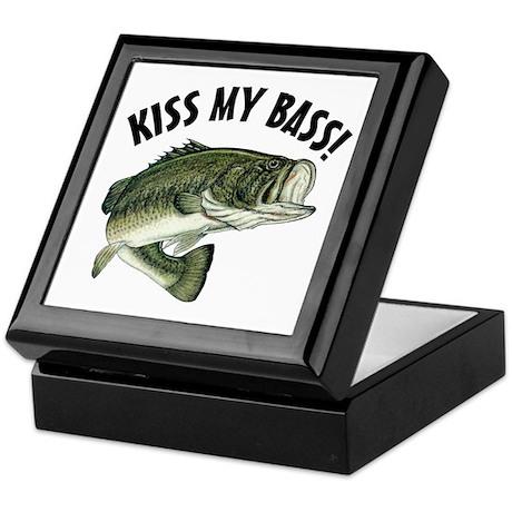 Kiss My Bass Keepsake Box