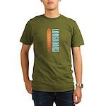 Longboard - Organic Men's T-Shirt (dark)