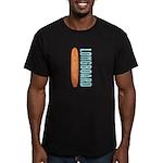 Longboard - Men's Fitted T-Shirt (dark)