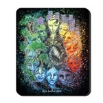 """""""Time & Space"""" Mousepad"""