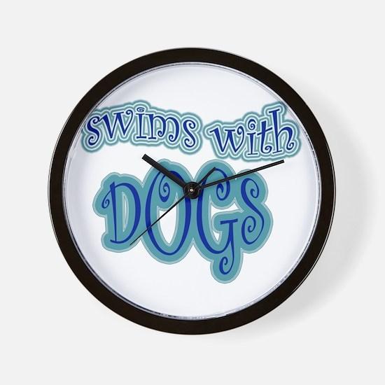 LD Swim Club 2 Wall Clock