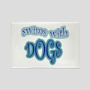 LD Swim Club 2 Rectangle Magnet