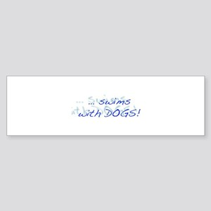 LD Swim Club 1 Sticker (Bumper)