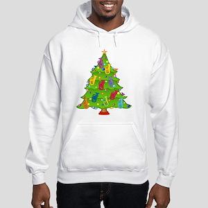 Euphonium Christmas Hooded Sweatshirt