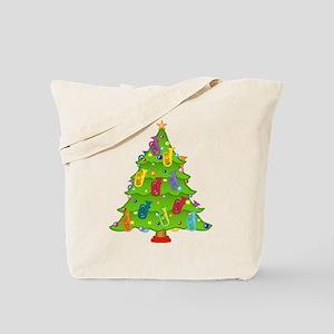 Euphonium Christmas Tote Bag