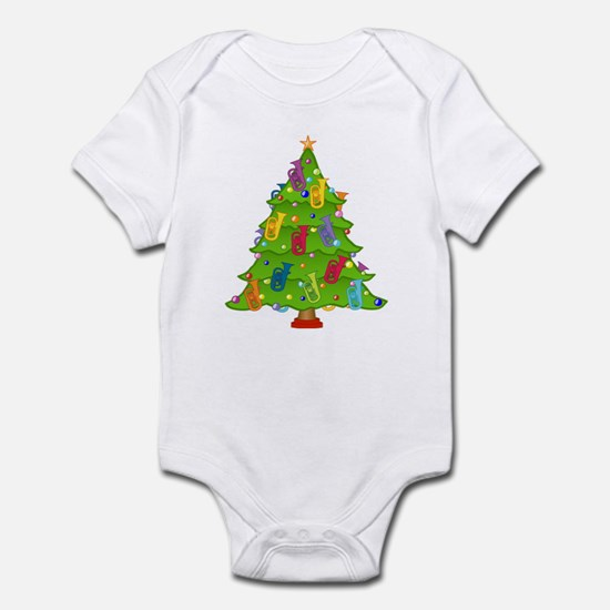 Euphonium Christmas Infant Bodysuit