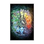 """Time & Space"" Mini Poster Print"