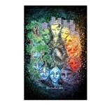 """""""Time & Space"""" Postcards (Package of"""