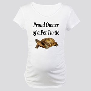 Proud Turtle Owner Maternity T-Shirt