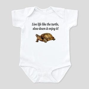 LOVE A TURTLE Infant Bodysuit