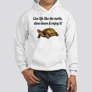 LOVE A TURTLE Hooded Sweatshirt