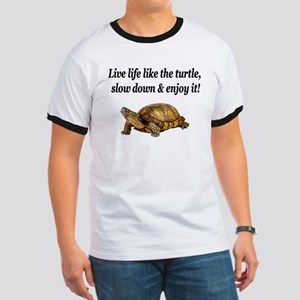 LOVE A TURTLE Ringer T