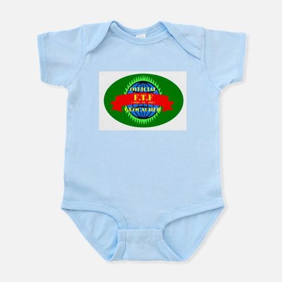 FTF GREEN OVAL Infant Creeper