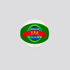 FTF GREEN OVAL Mini Button
