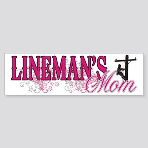 Lineman's Mom Sticker (Bumper)