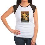 Women Power Poster Art Women's Cap Sleeve T-Shirt