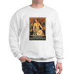 Women Power Poster Art Sweatshirt
