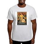 Women Power Poster Art Ash Grey T-Shirt