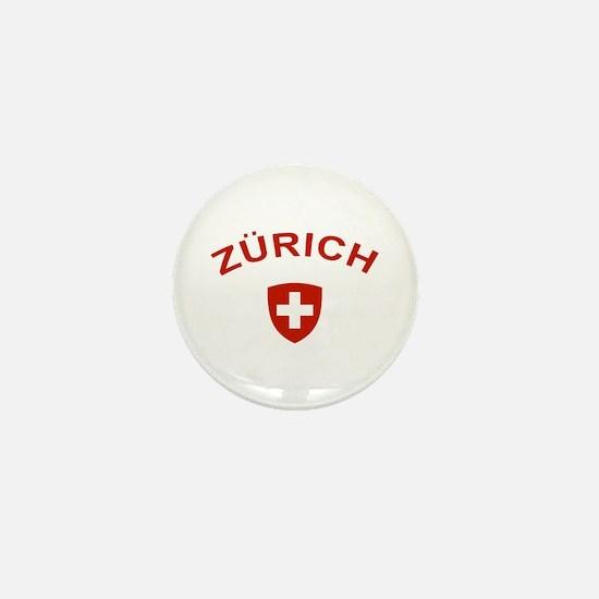 Zurich Mini Button