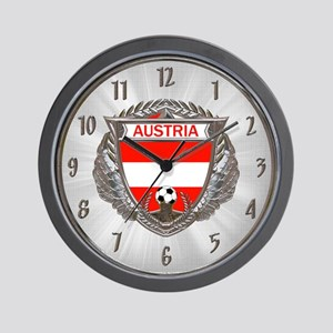 Austria Soccer Wall Clock