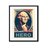 George Washington - American Framed Panel Print