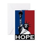 Liberty is Hope Greeting Card