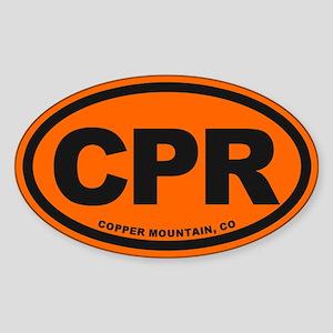Copper Mountain Sticker (Oval)