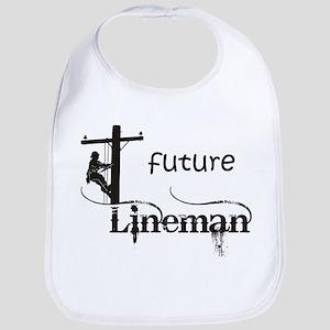 Future Lineman Bib