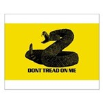 Don't Tread on Me! Small Poster