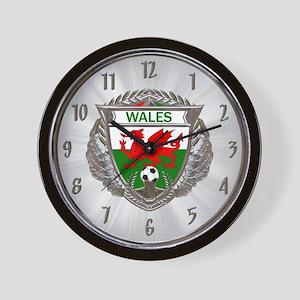 Wales Soccer Wall Clock