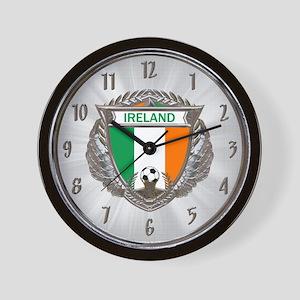 Ireland Soccer Wall Clock