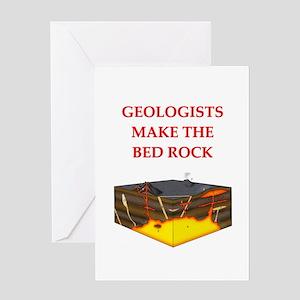 i love geology Greeting Card