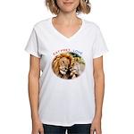 Eat Prey. Love. Women's V-Neck T-Shirt