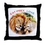 Eat Prey. Love. Throw Pillow