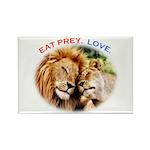 Eat Prey. Love. Rectangle Magnet (100 pack)