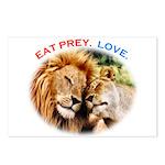 Eat Prey. Love. Postcards (Package of 8)