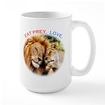 Eat Prey. Love. Large Mug