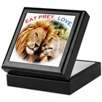 Eat Prey. Love. Keepsake Box