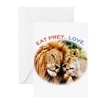 Eat Prey. Love. Greeting Cards (Pk of 10)