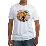 Eat Prey. Love. Fitted T-Shirt