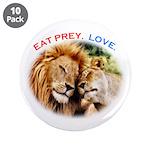 "Eat Prey. Love. 3.5"" Button (10 pack)"