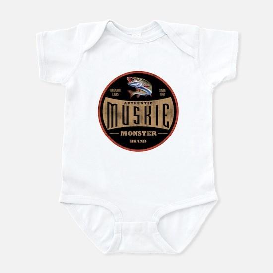 MONSTER MUSKIE BRAND Infant Bodysuit