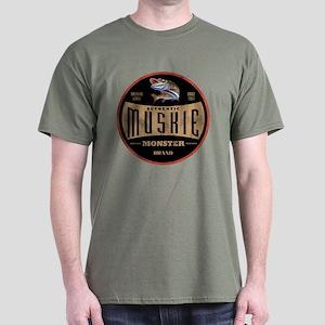 MONSTER MUSKIE BRAND Dark T-Shirt
