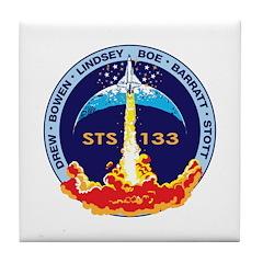 STS-133 Tile Coaster