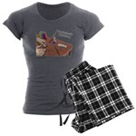 Wandmaker's Workshop Women's Charcoal Pajamas