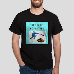 i love curling Dark T-Shirt